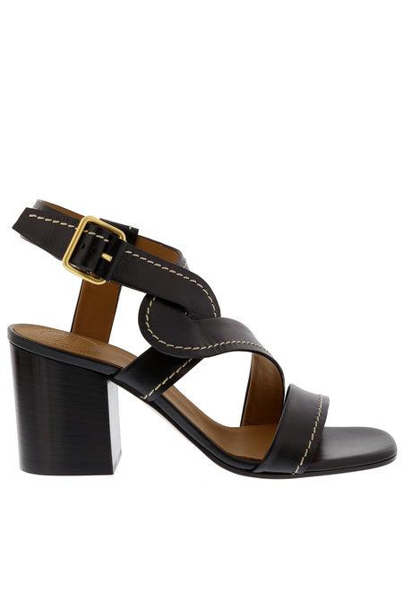 Chloe sandalen Candice zwart