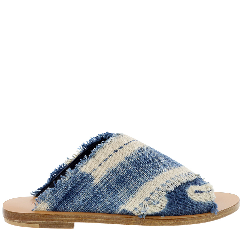 Forte_Forte slippers My Shoes 7148 blauw
