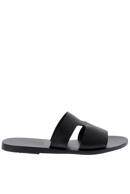 Ancient Greek Sandals slippers Apteros zwart