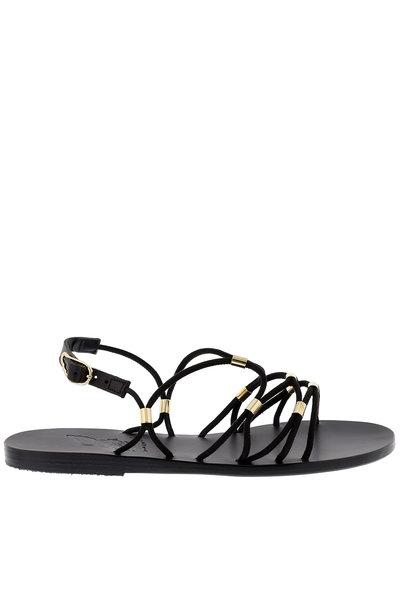 Ancient Greek Sandals Ancient Greek sandalen Pasifai zwart