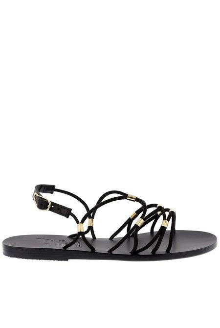Ancient Greek sandalen Pasifai zwart