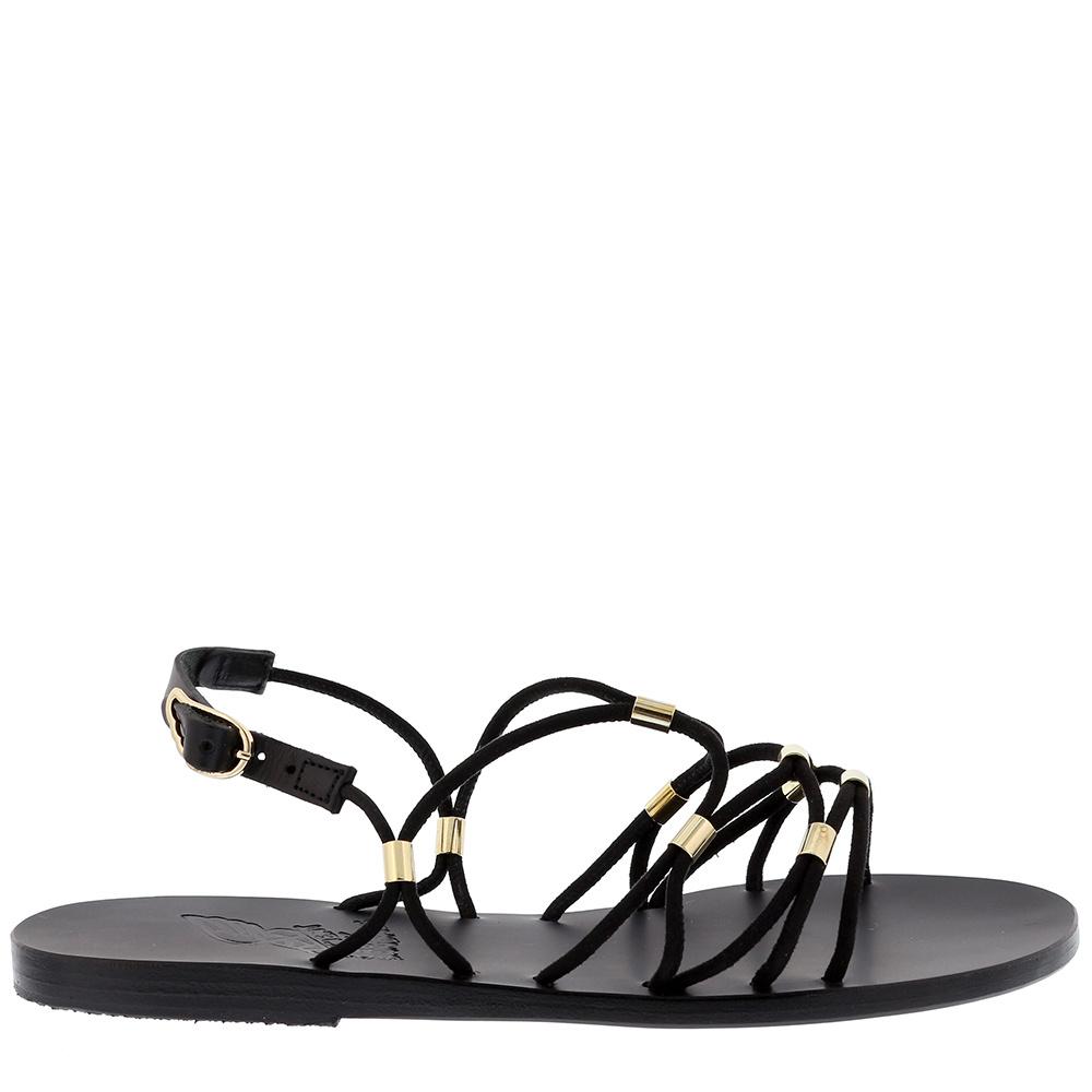 Ancient Greek Sandals sandalen Pasifai zwart