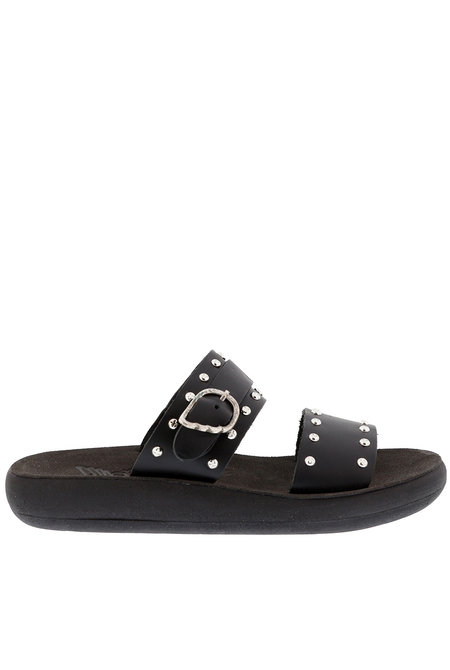 Ancient Greek Sandals sandalen Preveza Rivets zwart