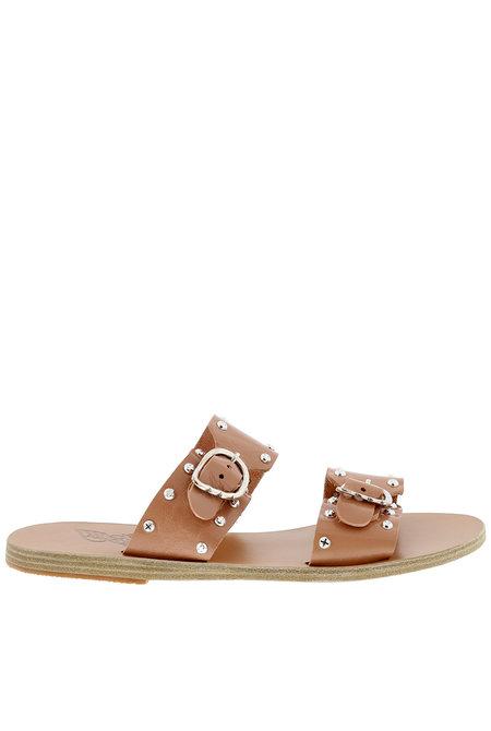 Ancient Greek Sandals sandalen Messinia Rivets nude