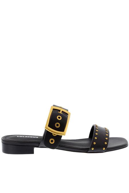 Lola Cruz slippers 123Z30BK zwart