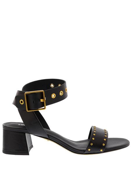 Lola Cruz sandalen 124Z10BK zwart