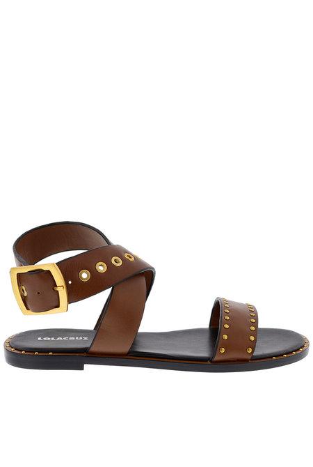Lola Cruz sandalen 122Z10BK bruin