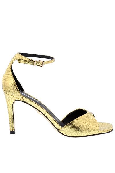 Lola Cruz Lola Cruz sandalen 029Z46BK goud