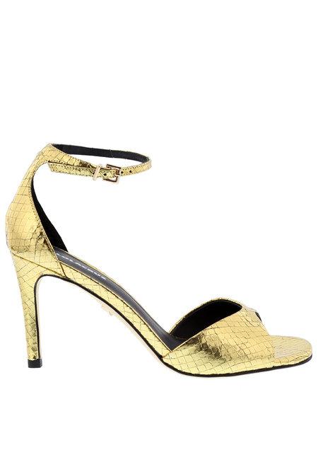 Lola Cruz sandalen 029Z46BK goud