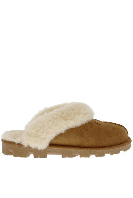 UGG pantoffels Coquette chestnut