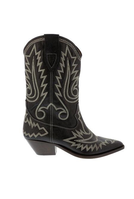 Isabel Marant laarzen Western Duerto zwart