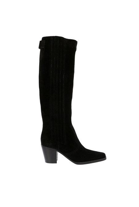 Ganni hoge laarzen S1010 zwart