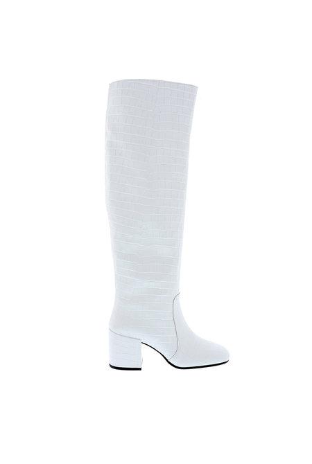 Nubikk hoge laarzen Gigi Melba wit