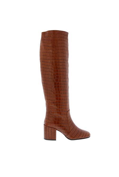 Nubikk hoge laarzen Gigi Melba cognac