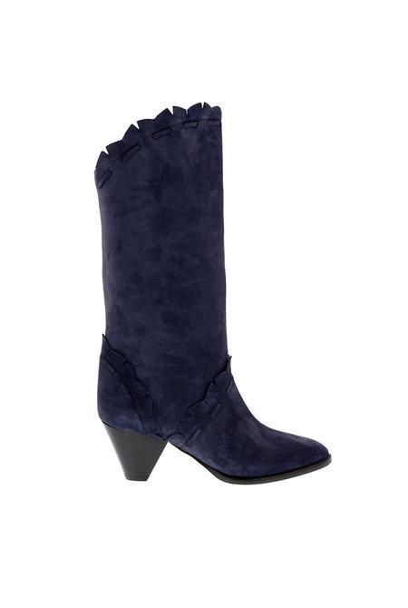 Isabel Marant korte laarzen Leesta blauw