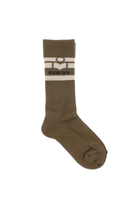 Isabel Marant sokken Viby groen