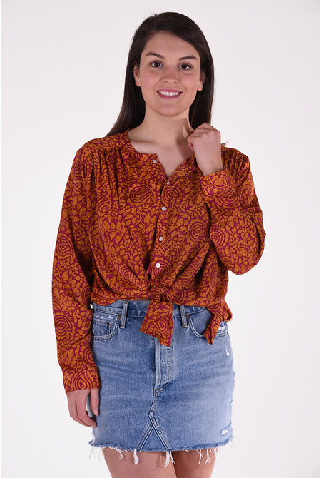 Sissel Edelbo blouse Brave multicolour