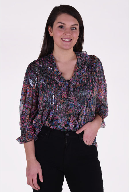 Zadig & Voltaire blouse Toni zwart
