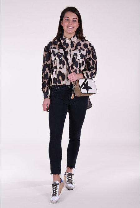 Ganni blouse F4680 dierenprint