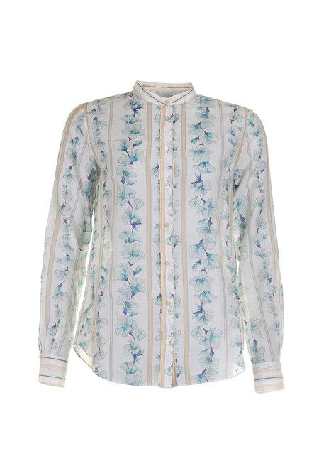 Forte_Forte blouse My Shirt 7089 blauw