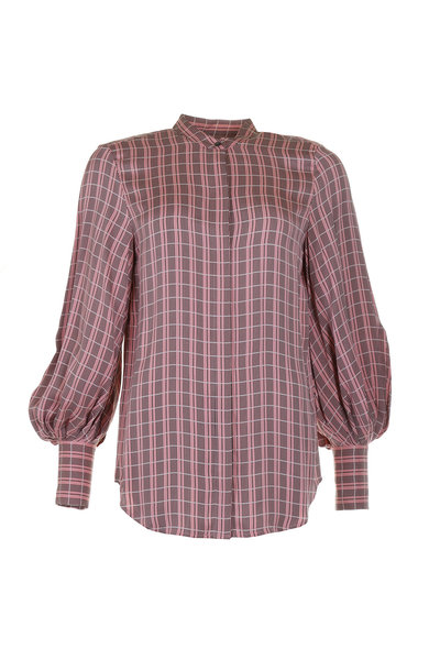 Equipment Equipment blouse Boleyn roze