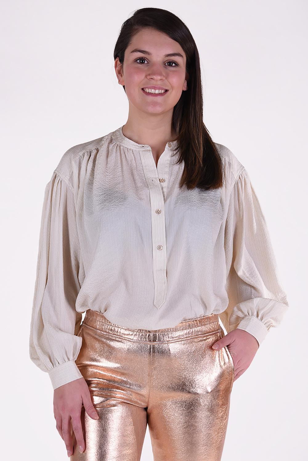 Anine Bing blouse Eden crème