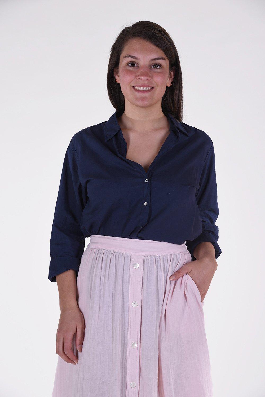Xirena blouse Beau blauw