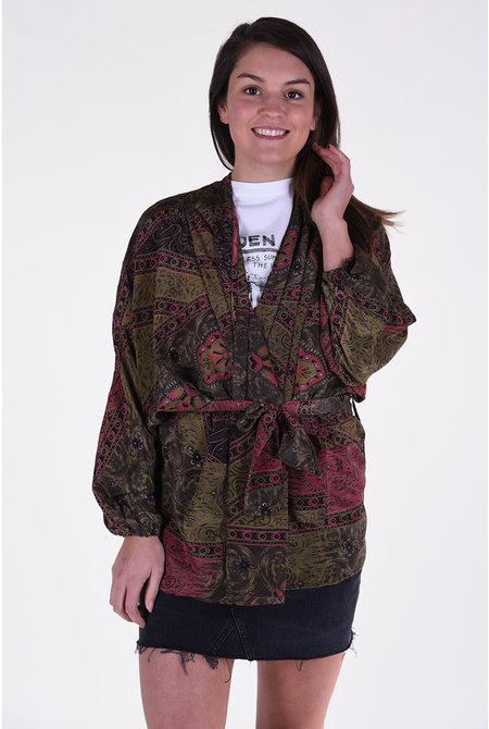 Sissel Edelbo kimono Mariella multicolour