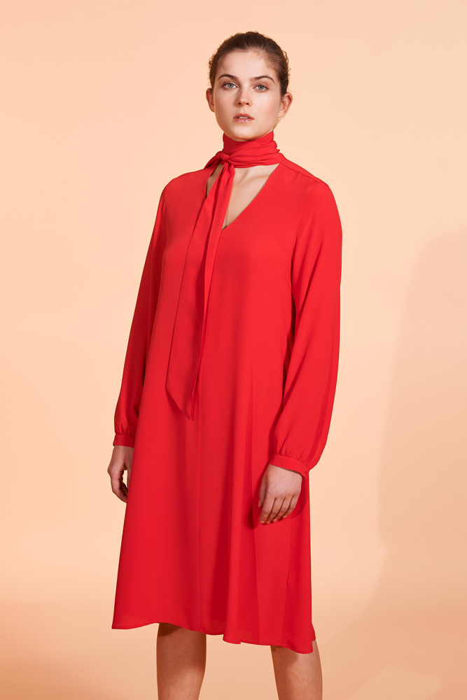Mauro Grifoni jurk 27002/6 rood