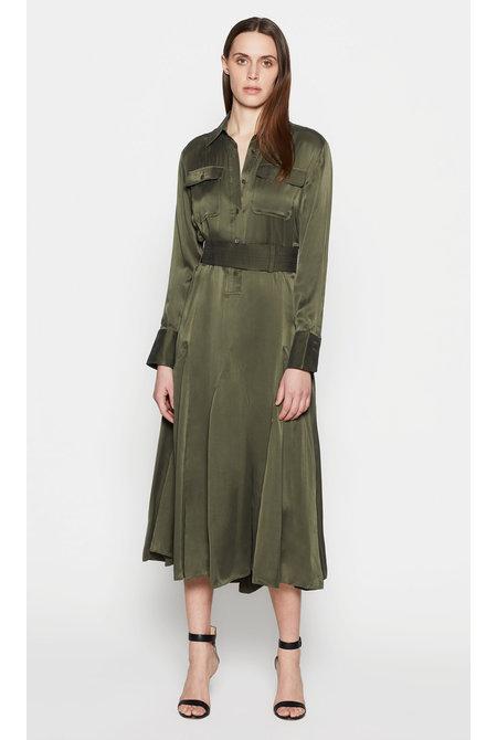 Equipment jurk Lenora groen