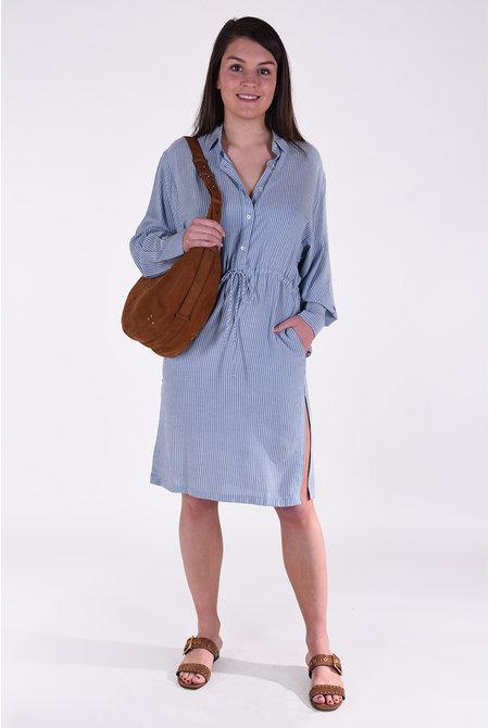 IRO jurk Markala blauw