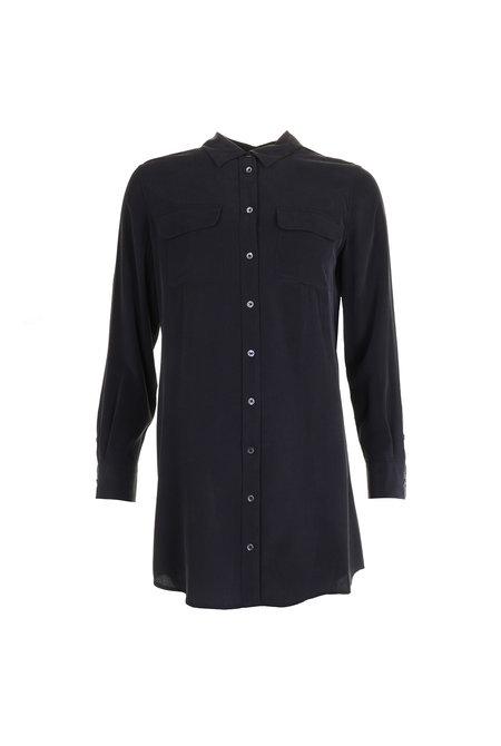 Equipment jurk Slim Signature zwart