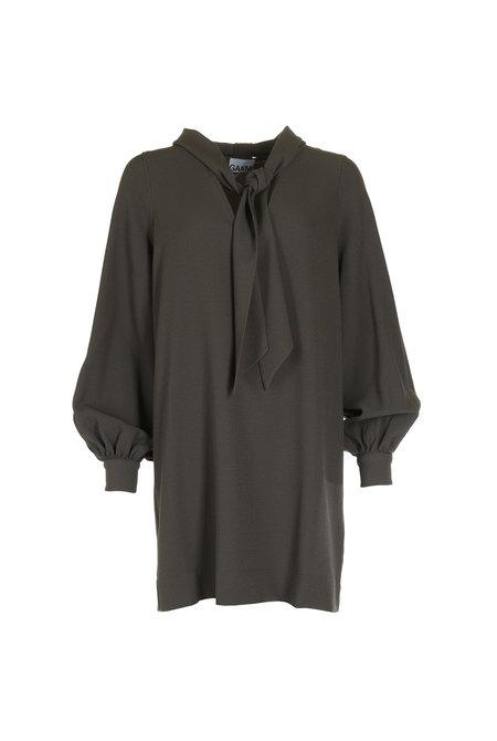 Ganni jurk F4256 groen