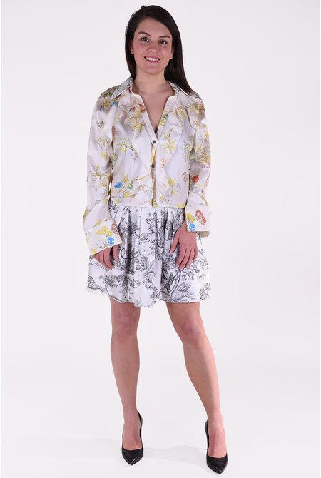 Zadig & Voltaire jurk Ruska multicolour