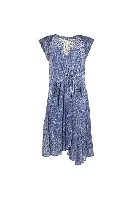Zadig & Voltaire jurk Rozane blauw