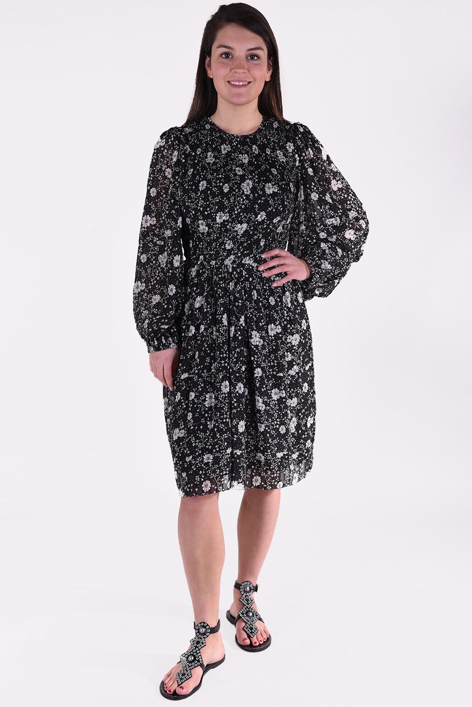 Isabel Marant jurk Eulie zwart