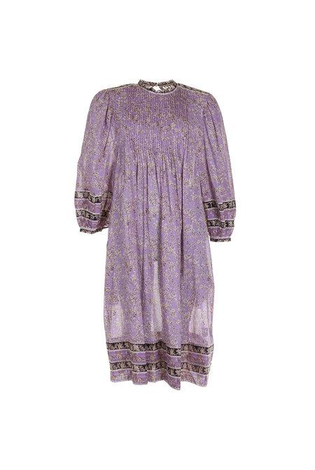 Isabel Marant jurk Vanille paars
