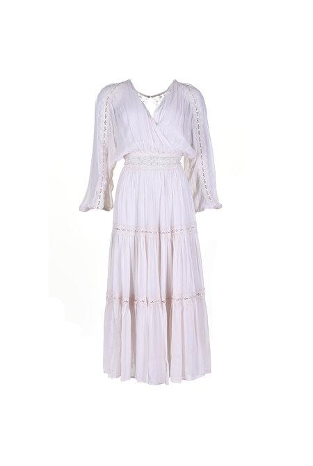Magali Pascal jurk Camille Maxi beige