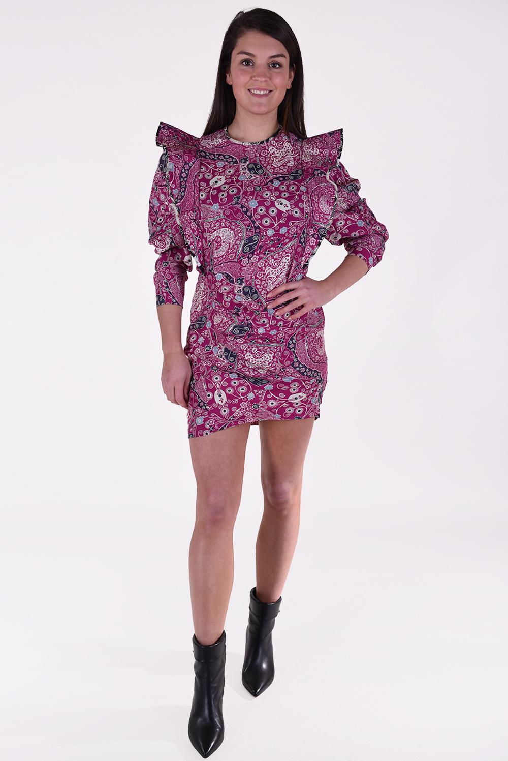Isabel Marant jurk Catarina roze