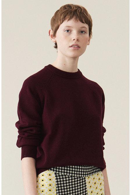 Ganni trui K1201 rood
