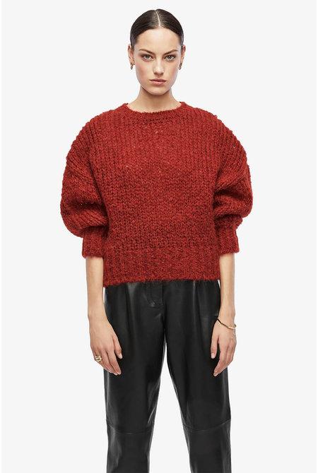 Anine Bing trui Greyson rood