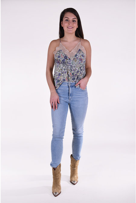 Zadig & Voltaire top Christy multicolour
