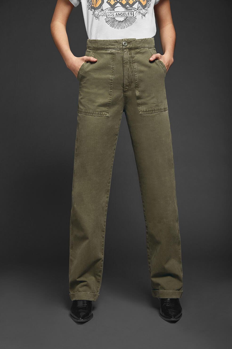 Anine Bing broek Scout groen