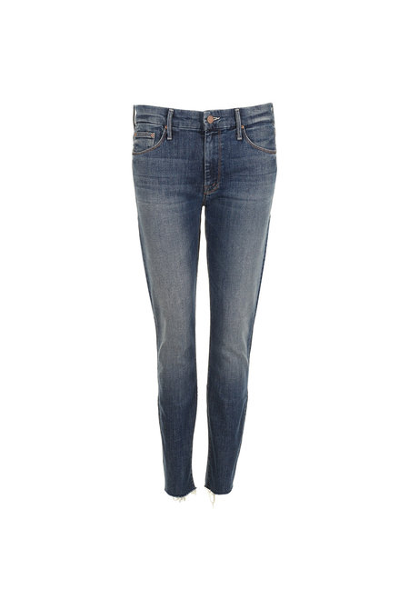 Mother Jeans The Looker Ankle Step Fray 1791-617 blauw