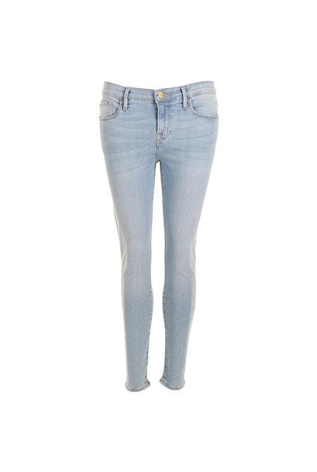 FRAME jeans Le Skinny De Jeanne Crop blauw