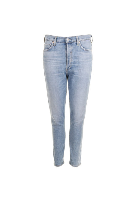 Citizens of Humanity jeans Olivia Crop blauw