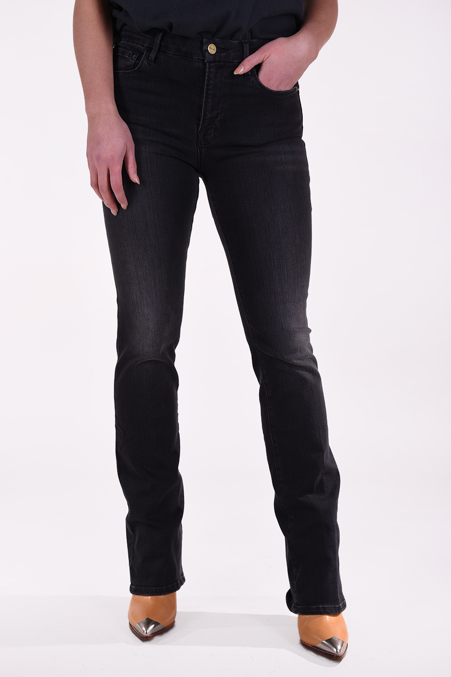 FRAME jeans Charlie Le Mini Boot grijs