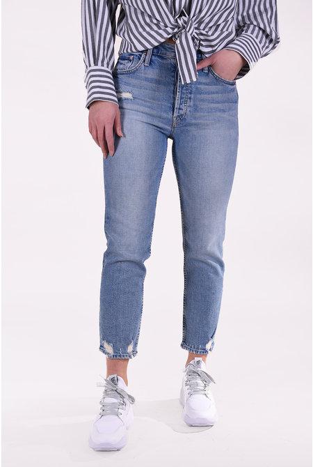 Mother jeans The Tomcat blauw