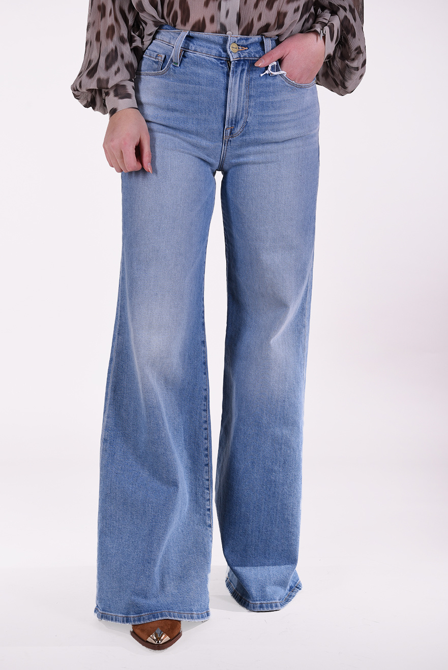 FRAME jeans Le Palazzo blauw