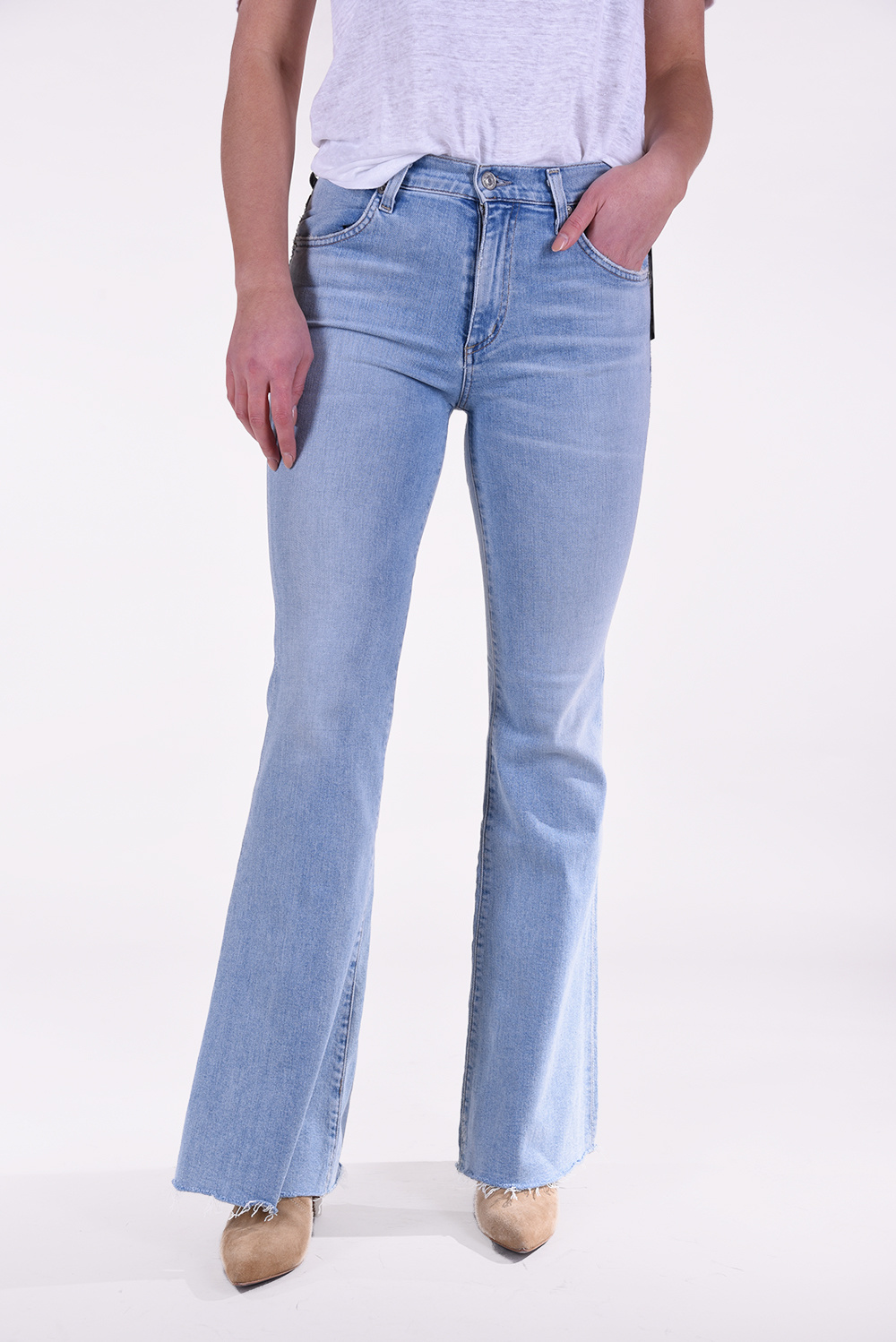 Citizens of Humanity jeans Chloe Flare blauw